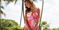 Beach House Lucy Twist Underwire Tankini Top - In Bloom