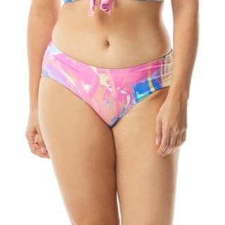 Beach House Maddy Side Shirred Bikini Bottom - Sea Soiree