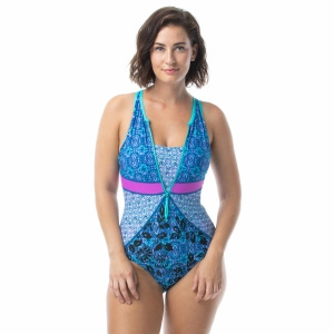 Beach House Sport Victory Racerback One Piece Swimsuit - Peace of Mind