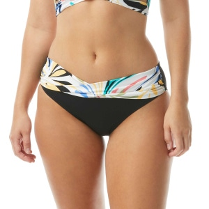 Coco Reef Star Banded Bikini Bottom - Retro Swirl