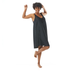 Coco Reef Femme Cover Up Dress - Metallic Dot